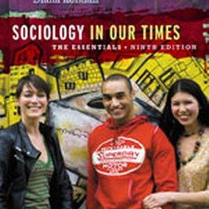 Test Bank (Complete Download) for   Sociology in Our Times: The Essentials
