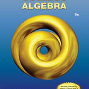 Test Bank (Complete Download) for   College Algebra