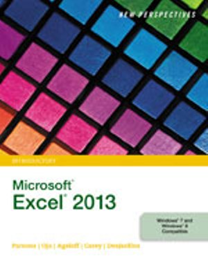 Solution Manual (Complete Download) for   New Perspectives on Microsoft® Excel® 2013