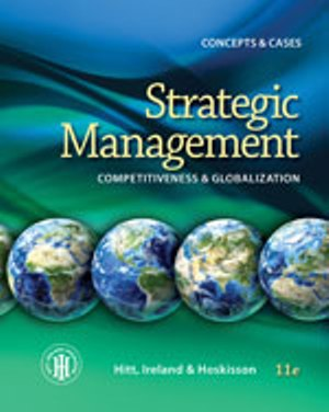 Solution Manual (Complete Download) for   Strategic Management: Concepts: Competitiveness and Globalization