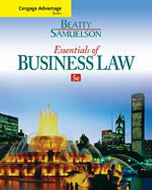 Solution Manual (Complete Download) for   Essentials of Business Law
