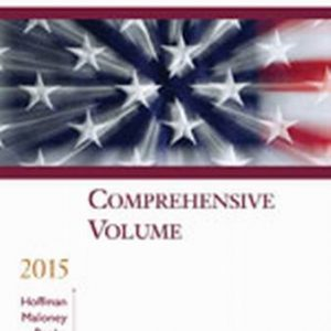 Solution Manual (Complete Download) for   South-Western Federal Taxation 2015: Comprehensive