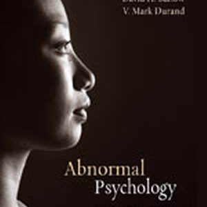 Test Bank (Complete Download) for   Abnormal Psychology: An Integrative Approach