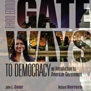 Test Bank (Complete Download) for   Gateways to Democracy: An Introduction to American Government