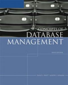 Solution Manual (Complete Download) for   Concepts of Database Management
