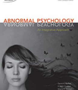 Test Bank (Complete Download) for  Abnormal Psychology An Integrative Approach
