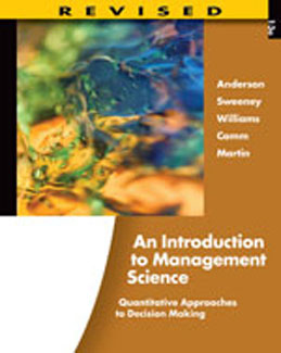 Test Bank (Complete Download) for  An Introduction to Management Science Quantitative Approaches to Decision Making 13th Edition