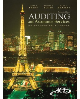 Test Bank (Complete Download) for  Auditing and Assurance Services