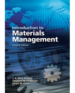 Test Bank (Complete Download) for  Introduction to Materials Management