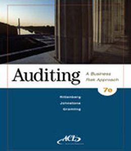 Test Bank (Complete Download) for  Auditing A Business Risk Approach