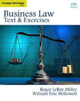 Test Bank (Complete Download) for  Business Law Text and Exercises