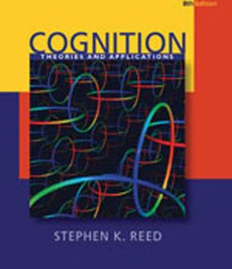 Test Bank (Complete Download) for  Cognition Theory and Applications