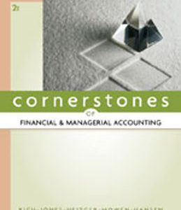 Test Bank (Complete Download) for  Cornerstones of Financial and Managerial Accounting