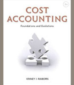 Test Bank (Complete Download) for  Cost Accounting Foundations and Evolutions