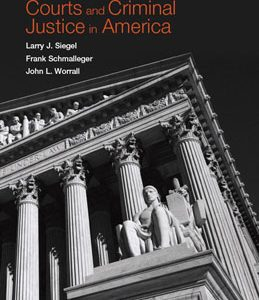 Test Bank (Complete Download) for  Courts and Criminal Justice in America
