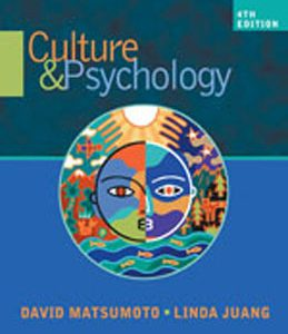 Test Bank (Complete Download) for  Culture and Psychology