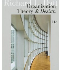 Test Bank (Complete Download) for  Organization Theory and Design