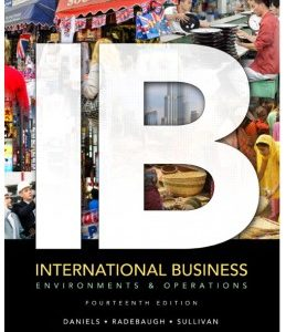 Test Bank (Complete Download) for  IB International Business 14th Edition