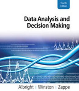 Test Bank (Complete Download) for  Data Analysis and Decision Making