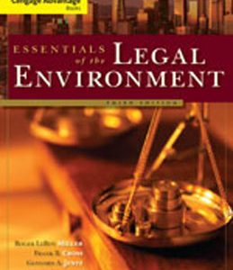 Test Bank (Complete Download) for  Essentials of the Legal Environment