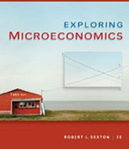 Test Bank (Complete Download) for  Exploring Microeconomics