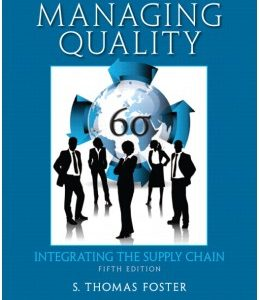 Test Bank (Complete Download) for  Managing Quality: Integrating the Supply Chain