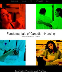 Test Bank (Complete Download) for  Fundamentals of Canadian Nursing Concepts Process and Practice