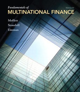 Test Bank (Complete Download) for  Fundamentals of Multinational Finance