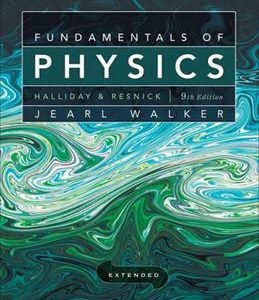 Test Bank (Complete Download) for  Fundamentals of Physics Extended