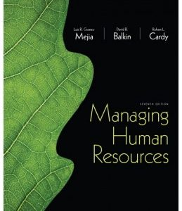 Test Bank (Complete Download) for  Managing Human Resources