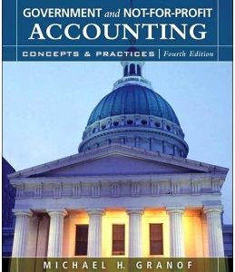 Test Bank (Complete Download) for  Government and Not-for-Profit Accounting