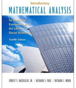 Test Bank (Complete Download) for  Introductory Mathematical Analysis