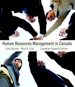 Test Bank (Complete Download) for  Human Resources Management in Canada