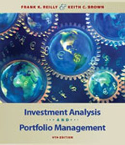 Test Bank (Complete Download) for  Investment Analysis and Portfolio Management