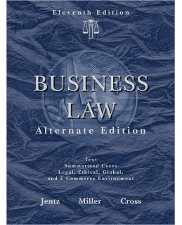 Test Bank (Complete Download) for  West's Business Law
