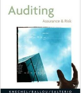 Test Bank (Complete Download) for  Auditing: Assurance and Risk