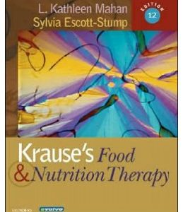 Test Bank (Complete Download) for  Krause's Food & Nutrition Therapy