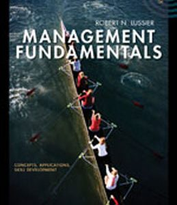 Test Bank (Complete Download) for  Management Fundamentals Concepts Applications Skill Development
