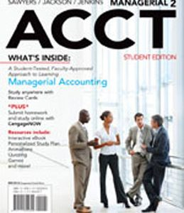 Test Bank (Complete Download) for  Managerial ACCT2