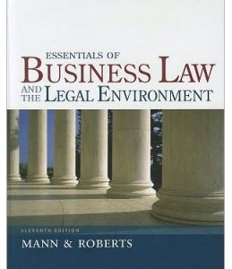 Test Bank (Complete Download) for  Essentials of Business Law and the Legal Environment