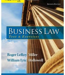 Test Bank (Complete Download) for  Business Law: Text and Exercises