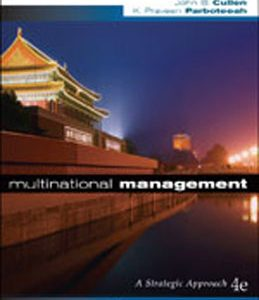 Test Bank (Complete Download) for  Multinational Management