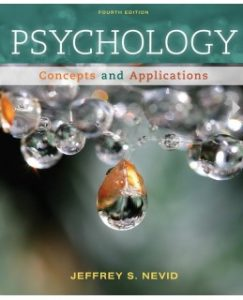 Test Bank (Complete Download) for  Psychology: Concepts and Applications