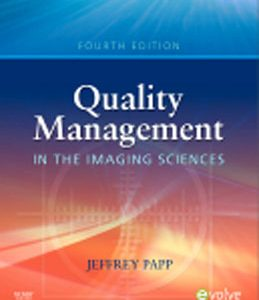 Test Bank (Complete Download) for  Quality Management in the Imaging Sciences