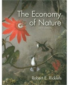 Test Bank (Complete Download) for  The Economy of Nature