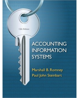 Test Bank (Complete Download) for  Accounting Information Systems