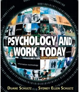 Test Bank (Complete Download) for  Psychology and Work Today