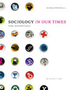 Test Bank (Complete Download) for  Sociology in Our Times The Essentials