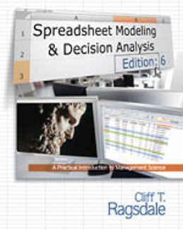 Test Bank (Complete Download) for  Spreadsheet Modeling and Decision Analysis A Practical Introduction to Management Science