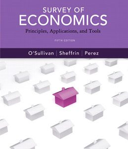Test Bank (Complete Download) for  Survey of Economics Principles Applications and Tools